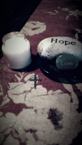 Candle&Cross Necklace