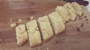 Cut biscotti